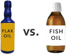 Is Fish oil better than Flax Oil ?
