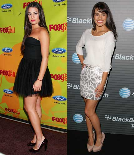 Lea Michele Weight Loss Reasons